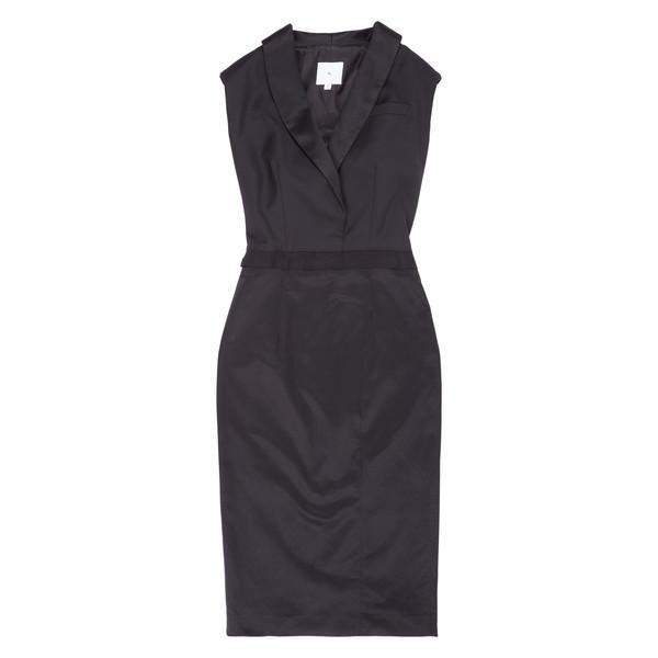 Altieri Shawl Collar Dress