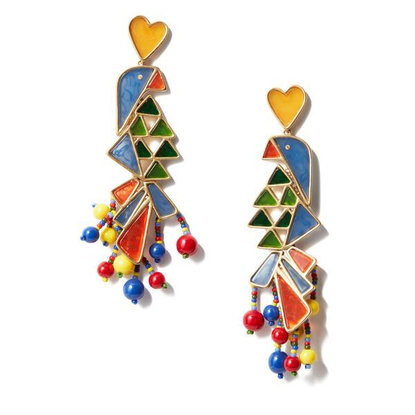 Parrot Statement Earring