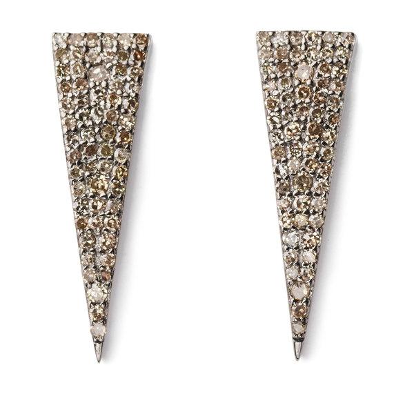 Sheryl Lowe Triangle Earrings