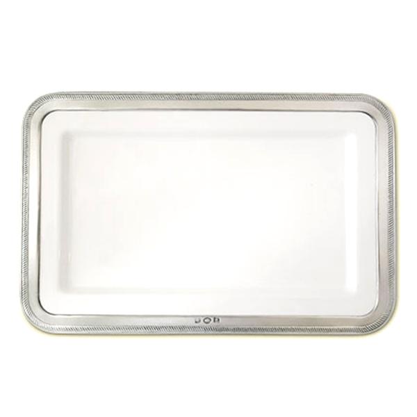 MATCH Pewter Luisa Rectangle Platter Medium