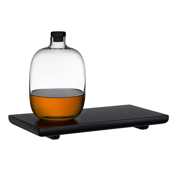 Nude Glass  Whiskey Decanter Set