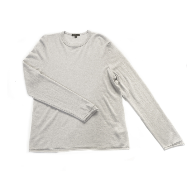 James Perse Classic Cashmere Crewneck Sweater