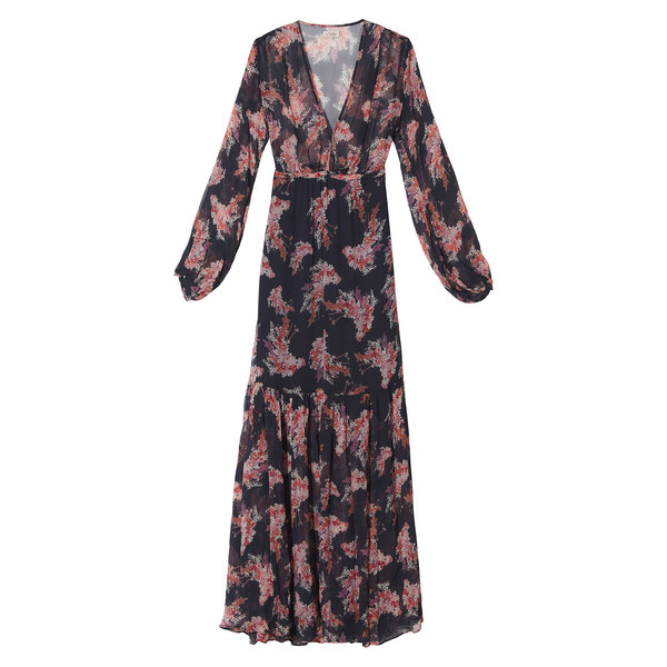 by TiMo Printed georgette maxi dress