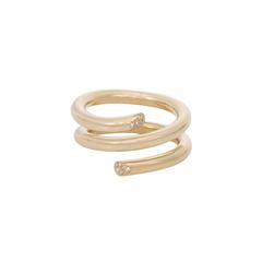 Pavé Spring Ring