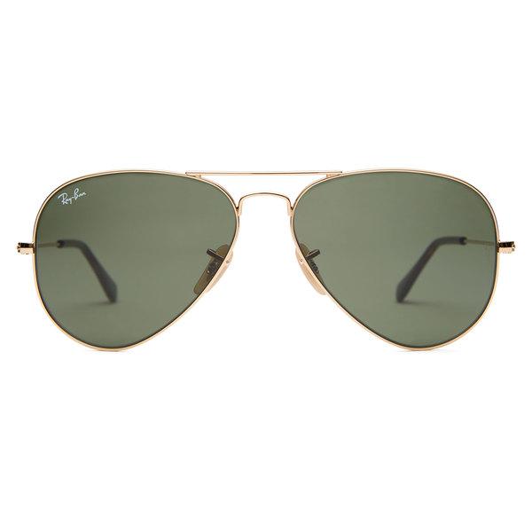 Ray-Ban Havana Aviator Sunglasses - 62 mm