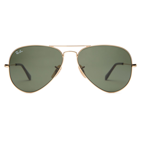 RAY-BAN Havana Aviator Sunglasses - 58 mm