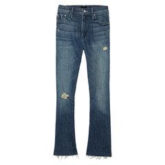 Insider Crop Fray Jeans