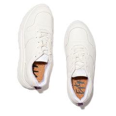 Jet Tumbled White Sneaker