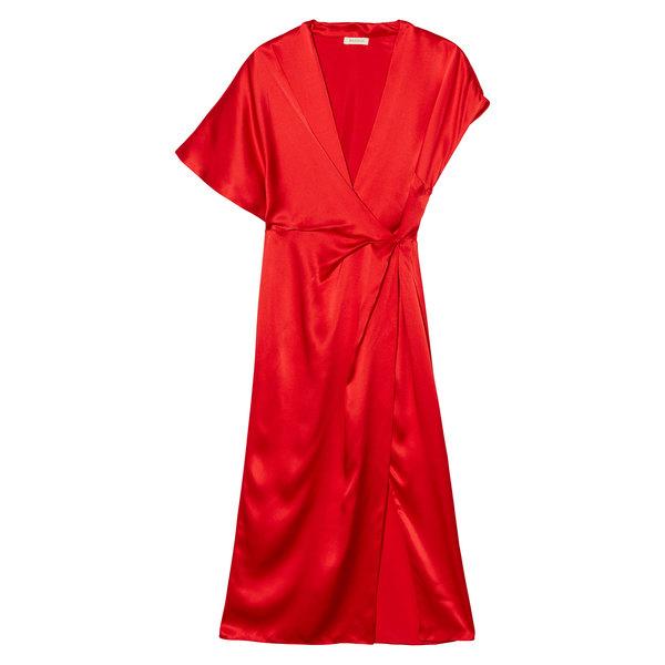 Bansuk Asymmetrical wrap dress