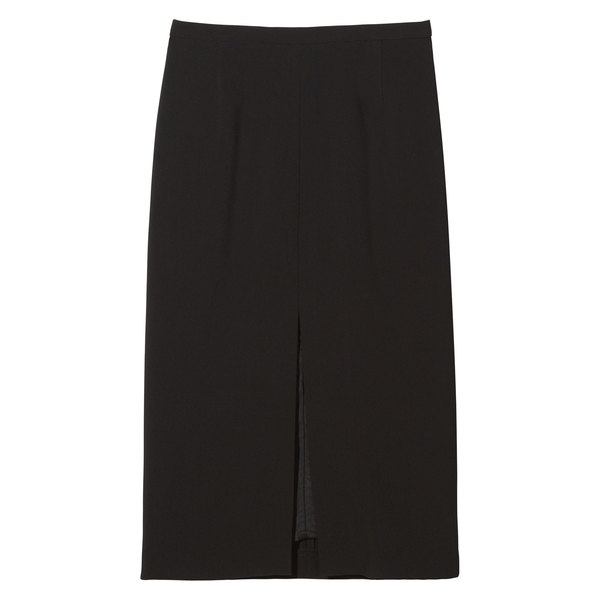Michael Kors Collection Front-Slit Pencil Skirt