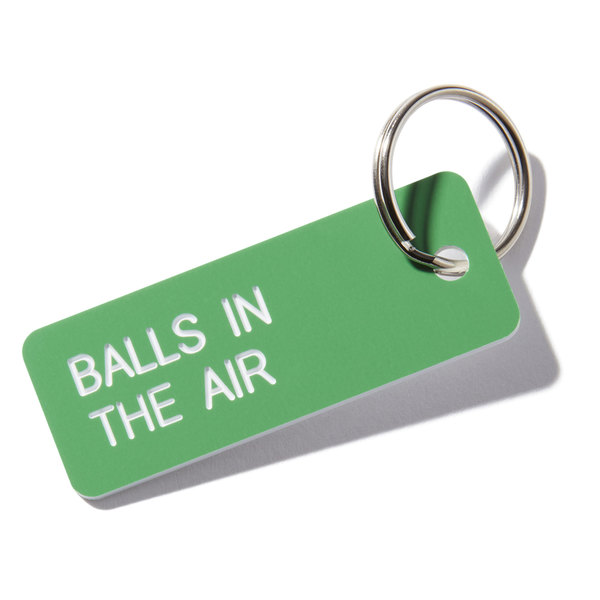 goop Wellness Balls in the Air Key Tag