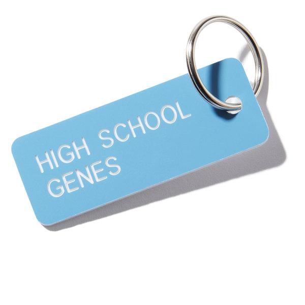 goop Wellness High School Genes Key Tag
