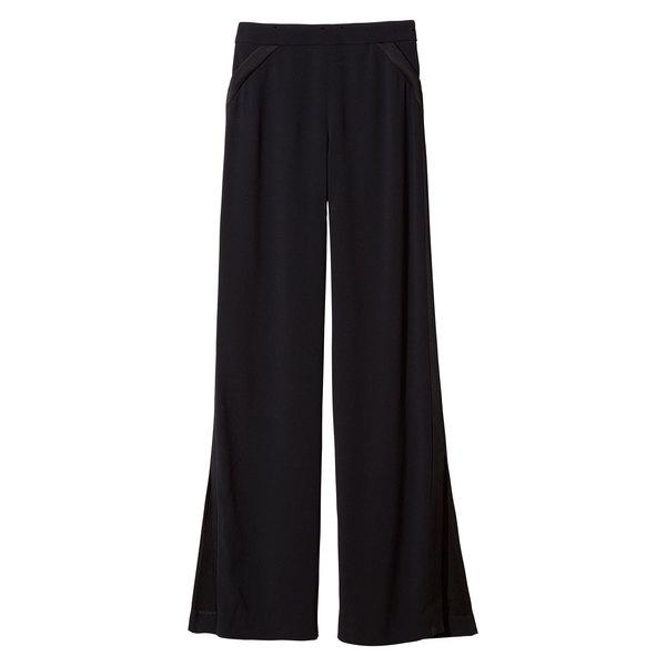 Cushnie et Ochs Matte Tuxedo Pants With Side Slit