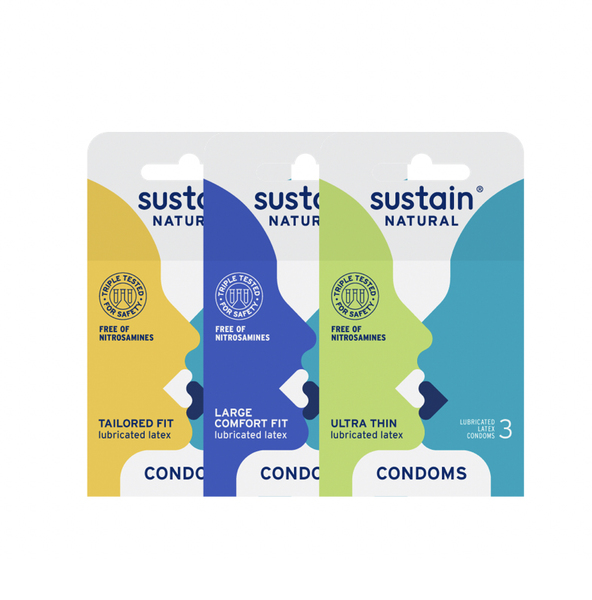 Sustain Condom Variety Gift Set