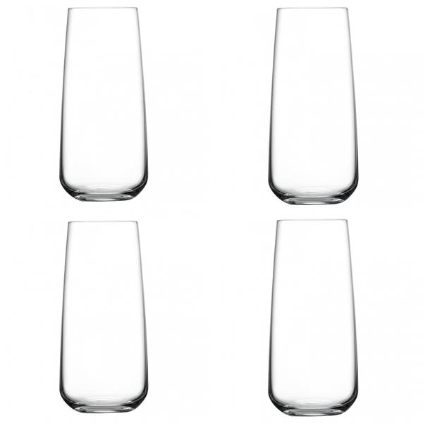 Nude Glass  Mirage Highball Set of 4