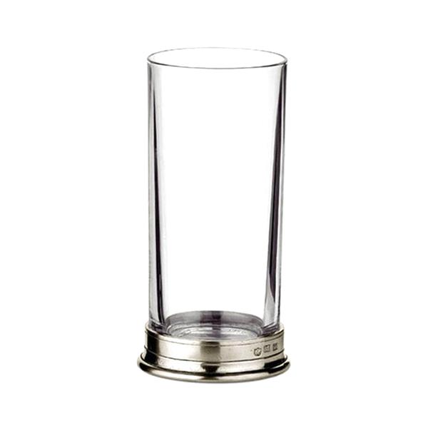 MATCH Pewter Crystal Highball Glass