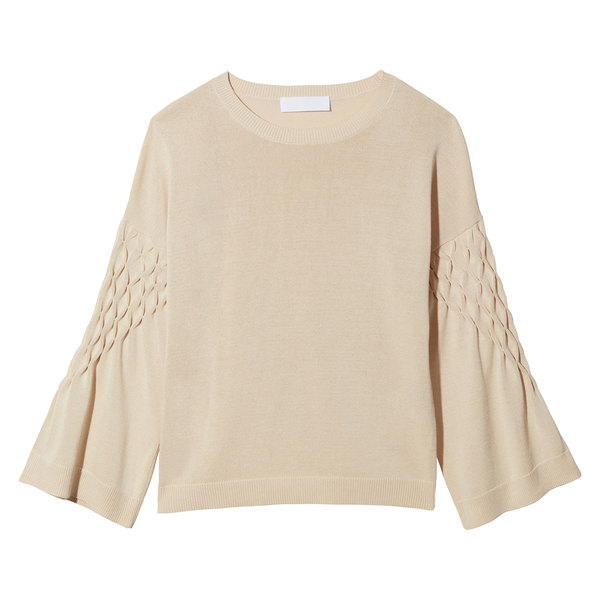 Co Flared-Sleeve Sweater