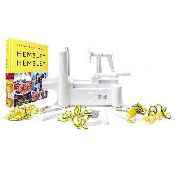Hemsley & Hemsley + Penguin Random House The Art of Eating Well Spiralizer Set