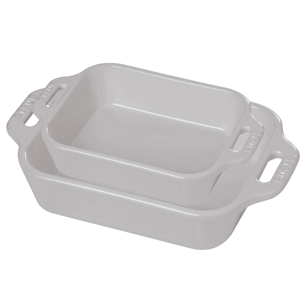 Staub 2-Piece Rectangular Baking Dish Set