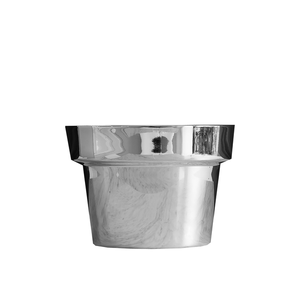 SKULTUNA Flower Pot, Silver Small