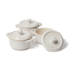 3-Piece Mini Round Cocotte Set