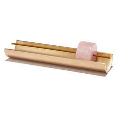 Rose Quartz Burner + Incense Set