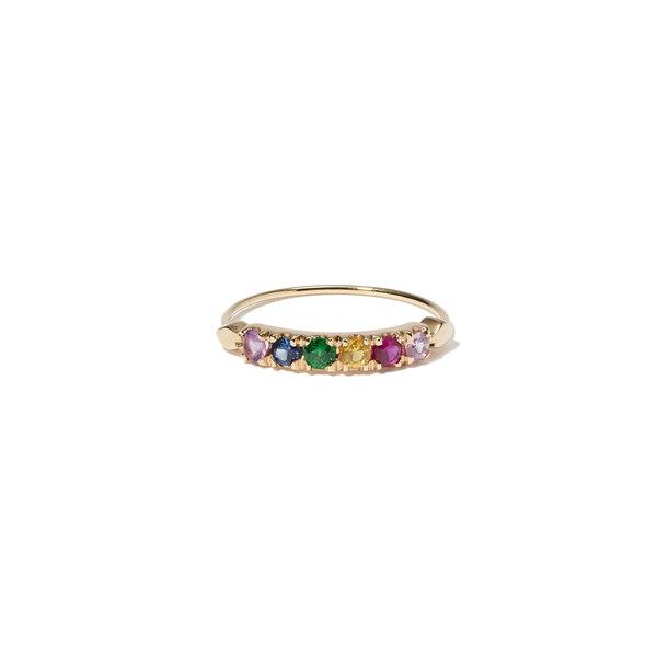 Bianca Pratt 6 Stone Stack Ring