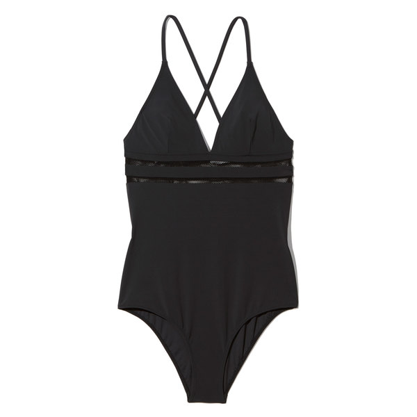 Stella McCartney Swimsuit with Mesh Detail