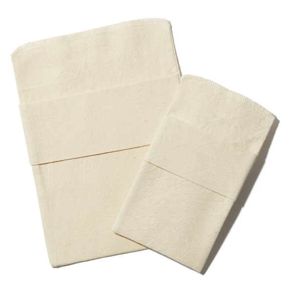Natural Linens Boutique  Organic Reusable Sandwich/Snack Bag Set