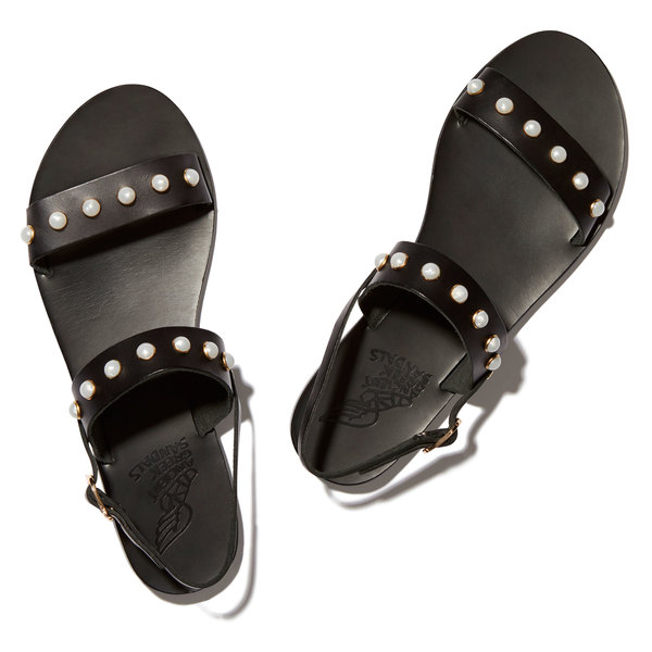 Ancient Greek Sandals Clio Pearls Sandal