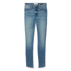 Le High Skinny Jeans with Cascade Hem