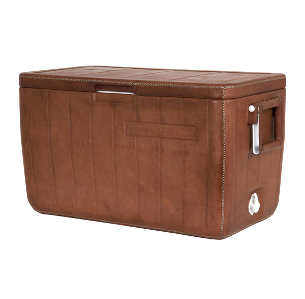 Jayson Home  Leather-Wrapped Cooler