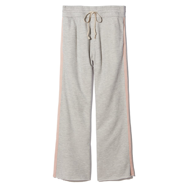 MOTHER The Lounge Crop Roller Fray Sweatpants