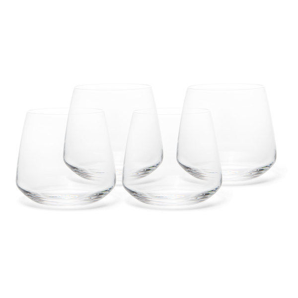 Nude Glass  Mirage Whiskey Glass Set of 4