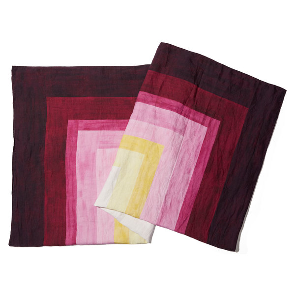 Summerill & Bishop  Shades of Pink Tablecloth