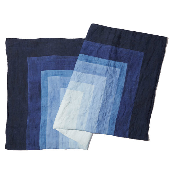 Summerill & Bishop  Shades of Blue Tablecloth