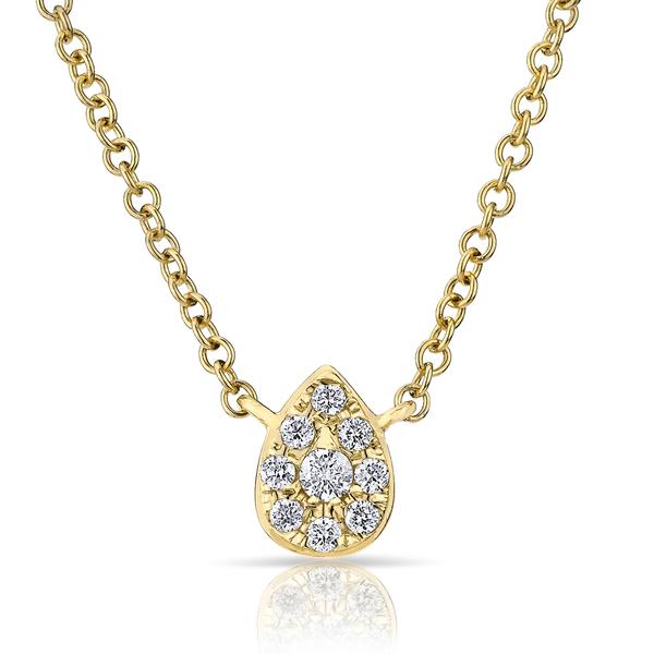 ANNE SISTERON Mini Pear Necklace