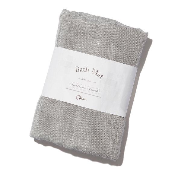Nawrap  Natural Binchotan Charcoal Bath Mat