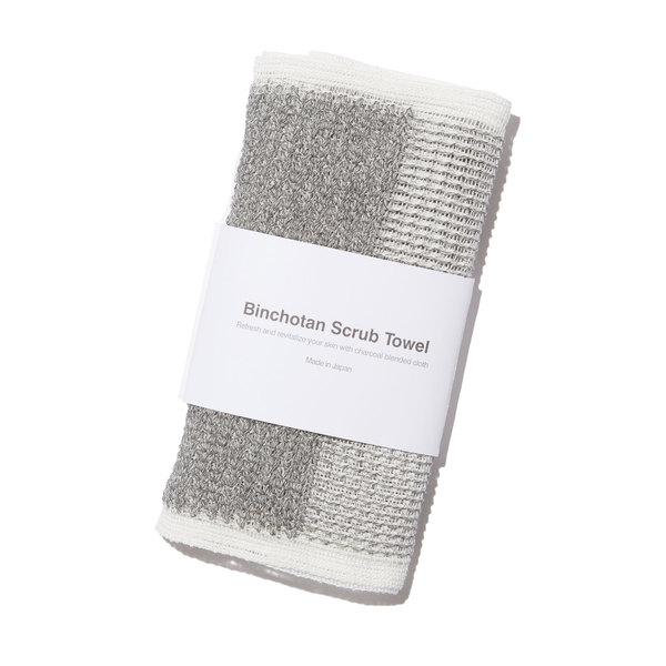 Morihata Binchotan Charcoal Body Scrub Towel