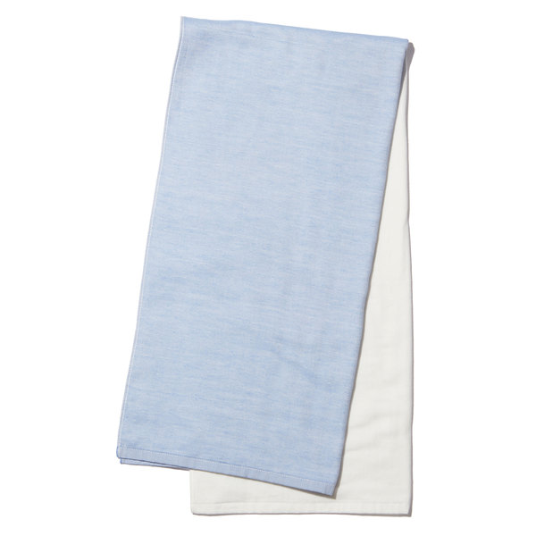 Yoshii Two Tone Chambray Bath Towel