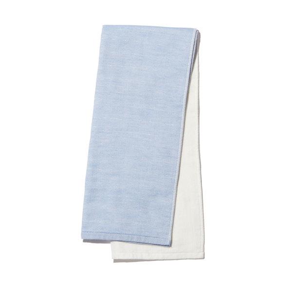 Yoshii Two Tone Chambray Hand Towel