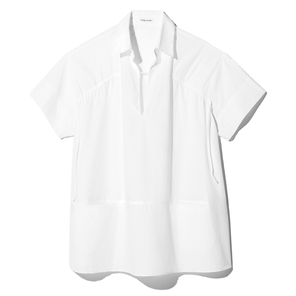 Tomas Maier Short Sleeve Cotton Top