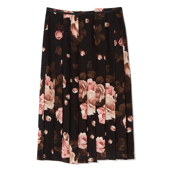 Rochas Printed Skirt
