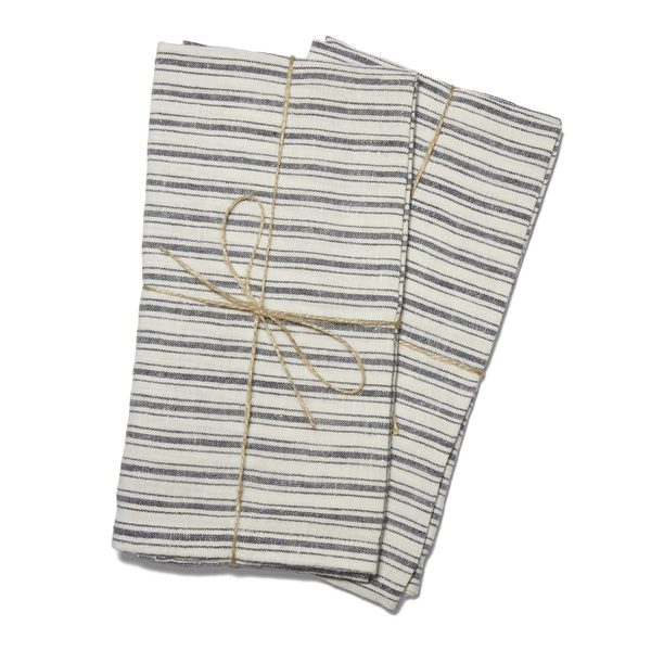 Caravan  Boat Stripe Towels, Set of 2