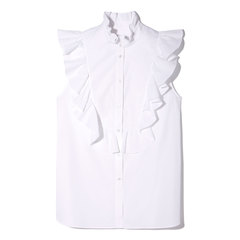 Noora Sleeveless Ruffle Top
