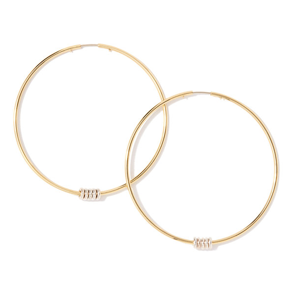 Spinelli Kilcollin Leela Hoop Earrings