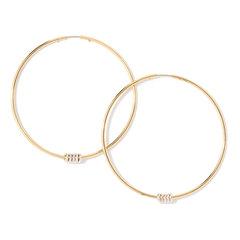 Leela Hoop Earrings