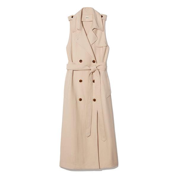 Khaite Donna Trench Wrap Dress