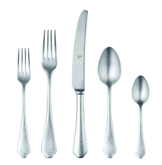 Pewter 5-Piece Flatware Set