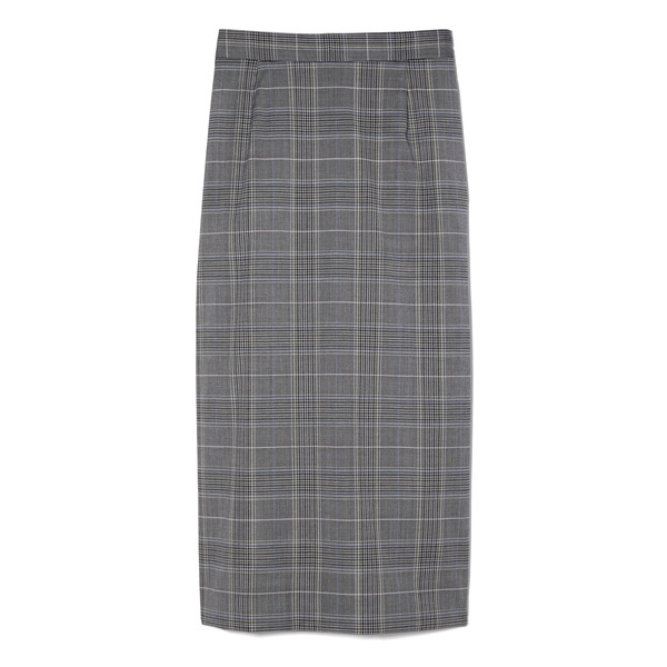 G. Label Michelle Plaid Pencil Skirt